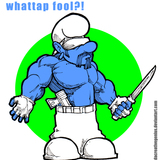Gangsta_smurf____by_dacreativegenius