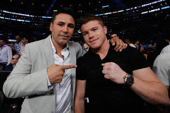 "Oscar De La Hoya thinks Saul ""Canelo"" Alvarez is The One."