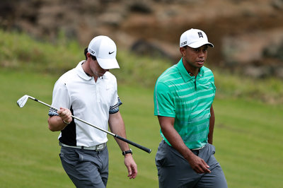 Tiger Woods boosts Rory McIlroy to win in 2013