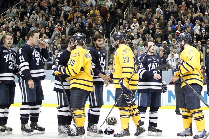 ECAC: Yale And Quinnipiac Meet In Rematch Of NCAA Championship Game