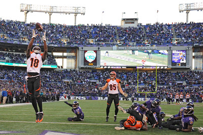 Bengals A.J. Green performance sets franchise records
