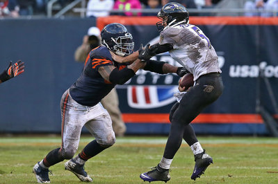 Chicago Bears Snap Count and statistical Breakdown vs the Baltimore Ravens