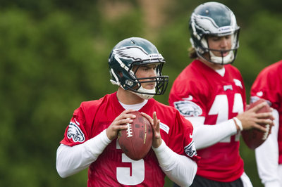 Former Eagles backup QBs Trent Edwards and Mike Kafka tryout for the Falcons