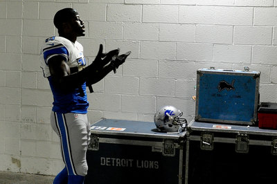 Lions vs. Buccaneers inactives: Nate Burleson is back