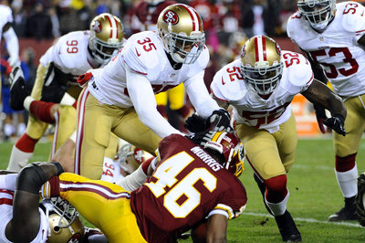 Alfred Morris says 49ers defense 'didn't do anything special' against Washington