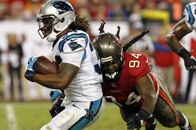Buccaneers vs. Panthers inactives: Revis plays, DeAngelo Williams out