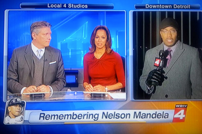 TV station mixes up Nelson Mandela and Alex Rodriguez in graphic