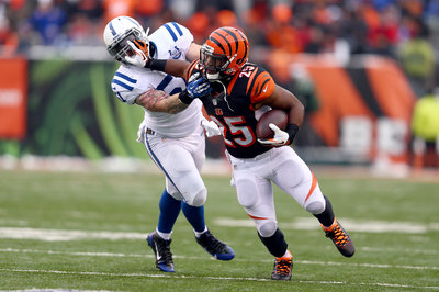 Giovani Bernard nominated for Pepsi Next Rookie of the Week