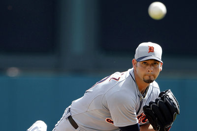 Sanchez, Tigers pitchers shine against Braves