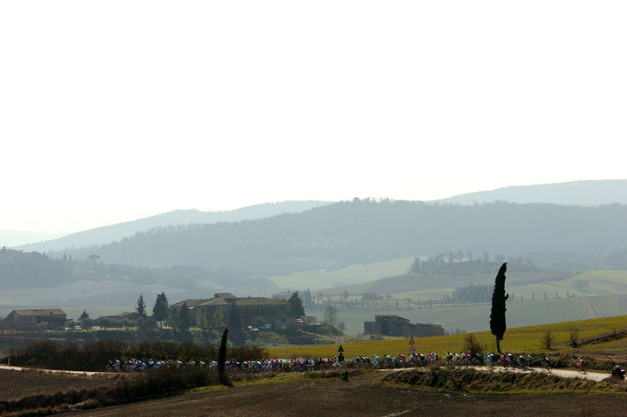 Photo: the combo of Strade Bianche and Roma Maxima this weekend really feels as the first true test...