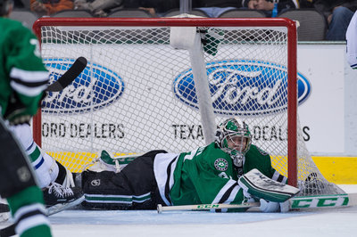 Video: Kari Lehtonen Leaves Game After Collision with Erik Haula