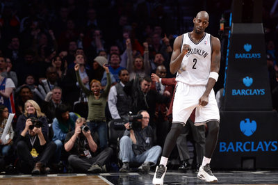 Kevin Garnett out for his fifth straight game; Mason Plumlee will start in his place