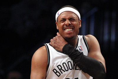 Paul Pierce and Andrei Kirilenko leave game early; status unclear for tomorrow