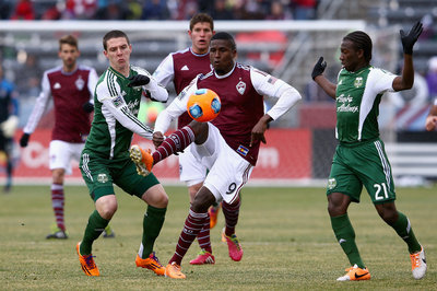 Speedy Colorado Rapids Burn Portland Timbers 2-0 on Pair of Penalties