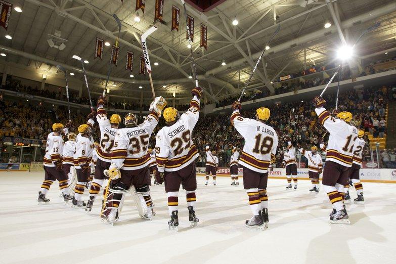 WCHA: Minnesota Goes On Scoring Binge Saturday To Defeat Alaska-Anchorage 7-1