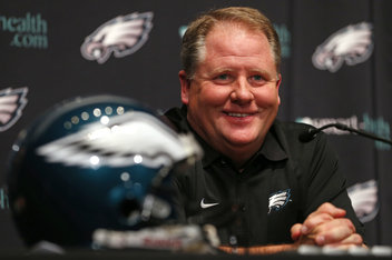 Chip Kelly on The Linc   Chip Kelly Turns Attention To Staff   Bleeding Green Nation