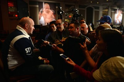 UFC 157 'Rousey vs Carmouche' post-fight media scrum full video with Dana White