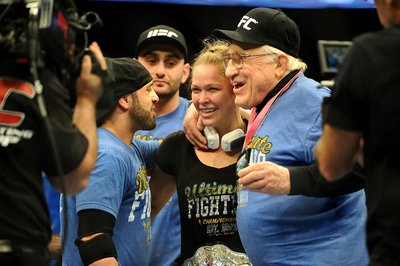 Ronda Rousey delivers pitch-perfect performance in UFC 157 win