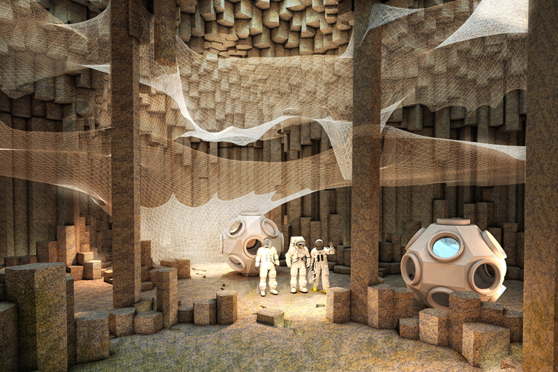 Dreamy concept imagines life in a Mars colony - The Verge