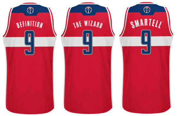 de2969ddd18 Imagining NBA nickname jerseys for the Wizards - Bullets Forever
