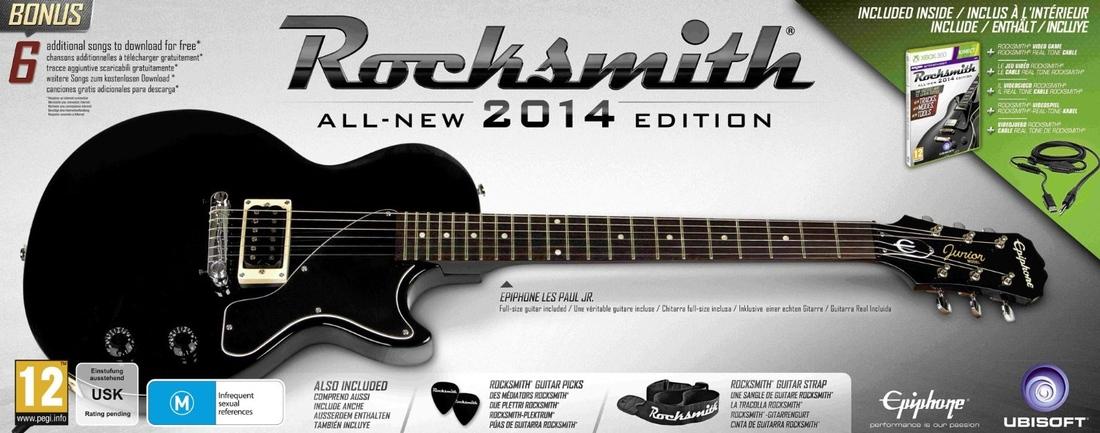Rocksmith 2014 Guitar Bundle Includes Six Songs New Tracks