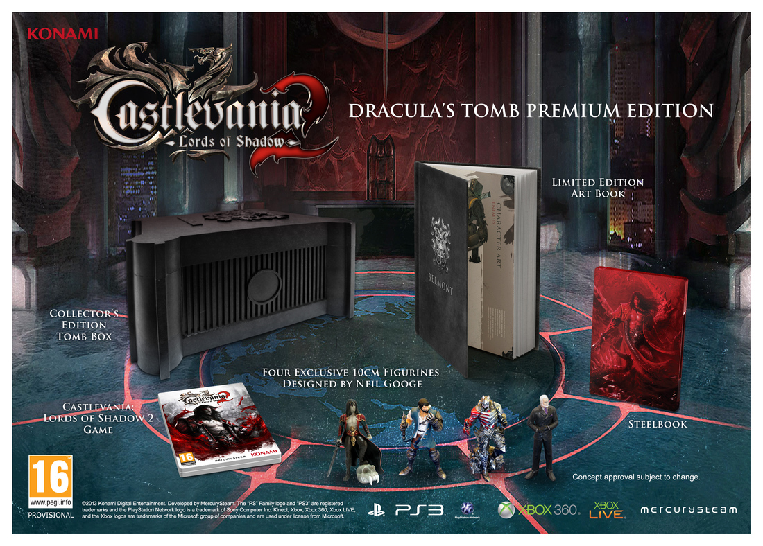 Dracula faces Satanic threat in new Castlevania: Lords of