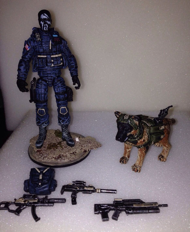 Call Of Duty Dog Gets Its Own Fan Made Action Figure Polygon