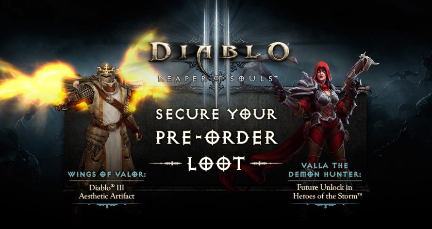 Diablo 3: Reaper of Souls pre-orders include Heroes of the Storm character unlock - Polygon
