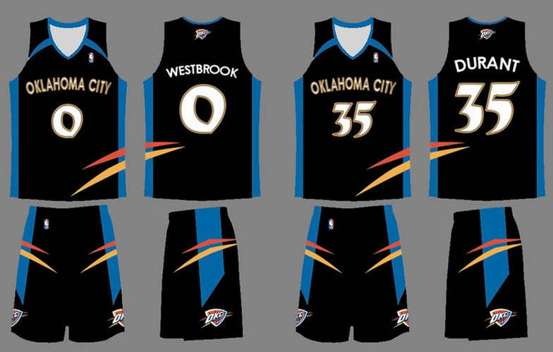586d028a7aa Oklahoma City Thunder jerseys  is it time for a new look  - Welcome ...