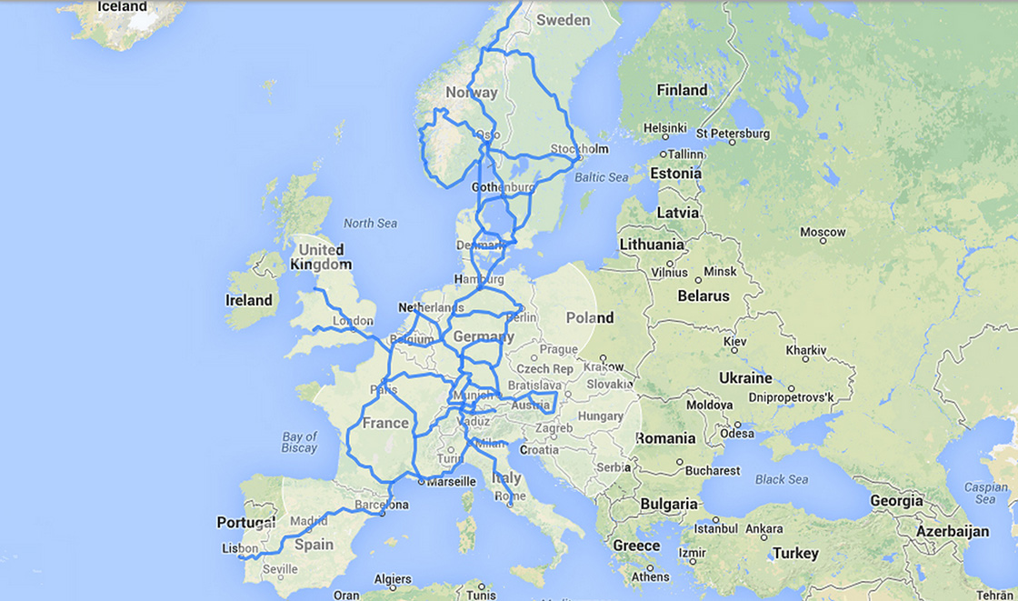 Tesla eyes Europe with major Supercharger network expansion ...