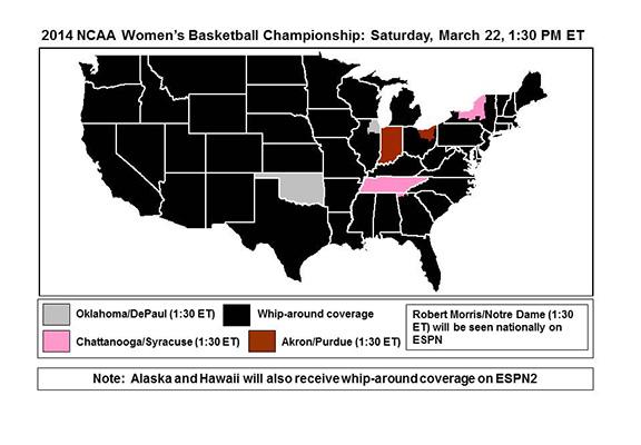 2014 Women's NCAA Tournament: Sooners vs. #7 DePaul ...