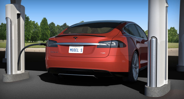 Tesla Motors Launches Revolutionary Supercharger Enabling Convenient Long Distance Driving thumbnail