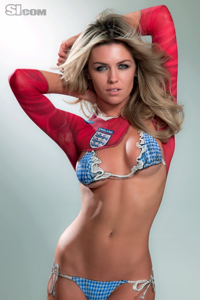 Sporting KC vs. Stoke City: The Abbey Clancy Is Smoking ...