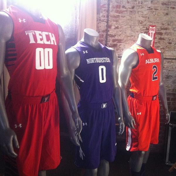 first rate a3fca aa4b0 Under Armour reveals new Northwestern Basketball uniforms ...