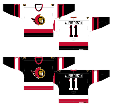 brand new dcbac dc4cc Guest Post: Worst to First Jerseys, Ottawa Senators - Silver ...