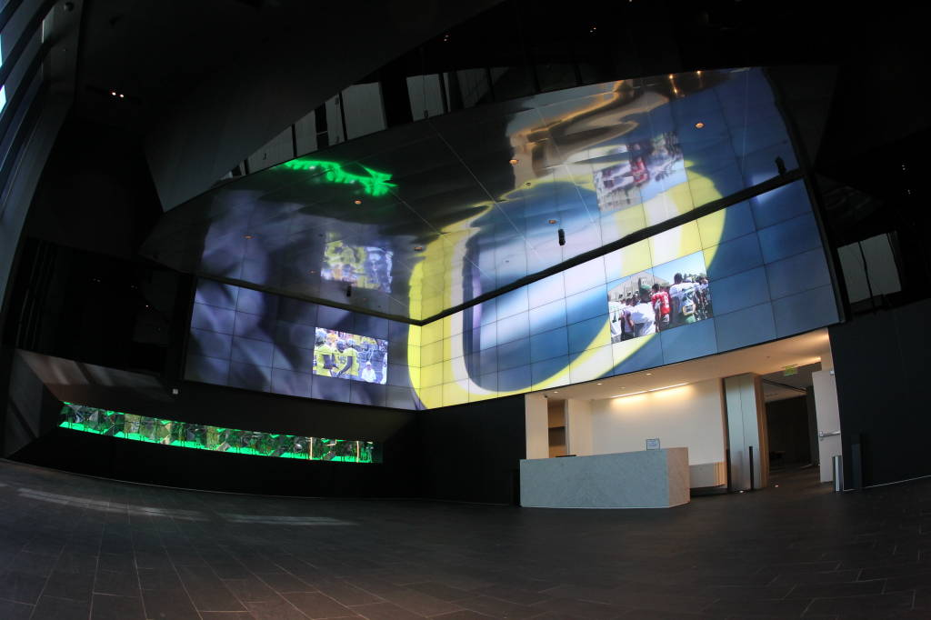 Incredible Photos And Video Of Oregon S New Football