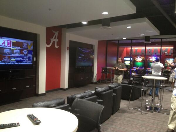 Pictures of the New Alabama Football Facilities via ...