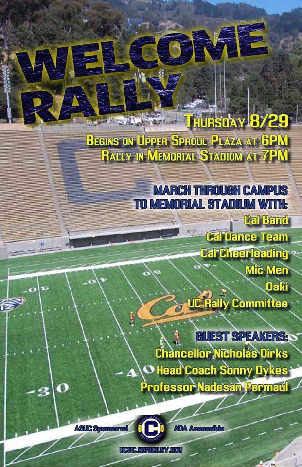 Kick Off Rally Thursday Night At Memorial Stadium