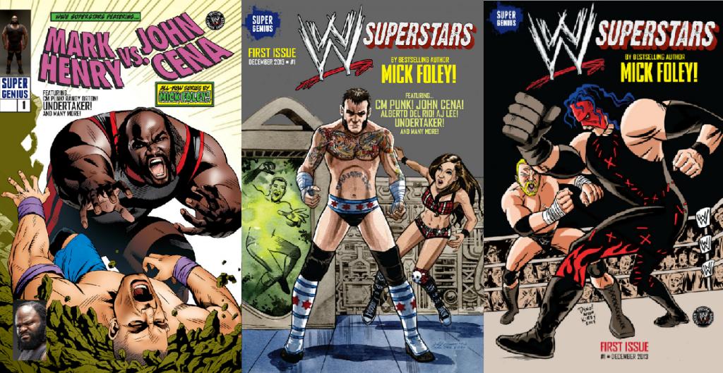 Wwe Heroes Comic Book