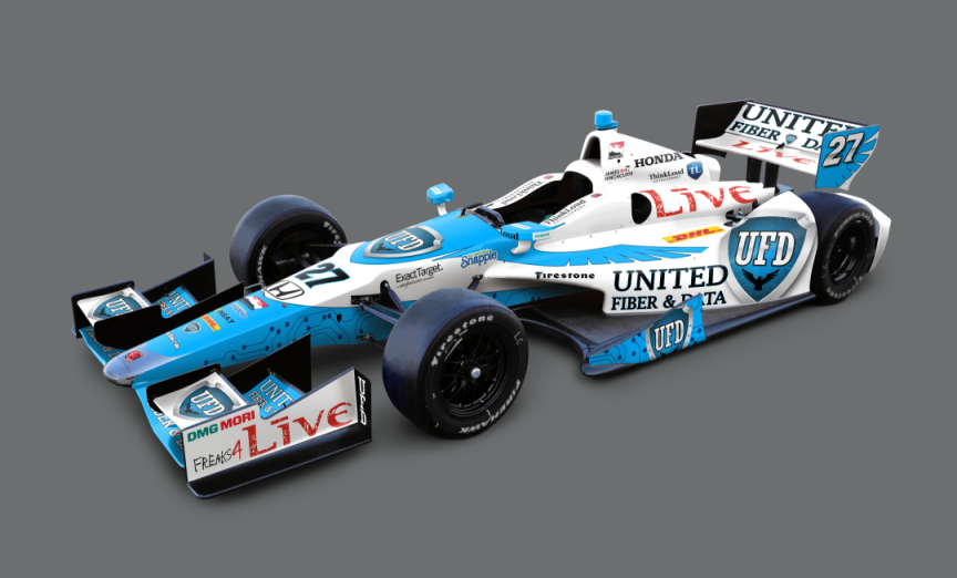 Andretti Autosport unveils 2014 driver lineup, paint liveries on