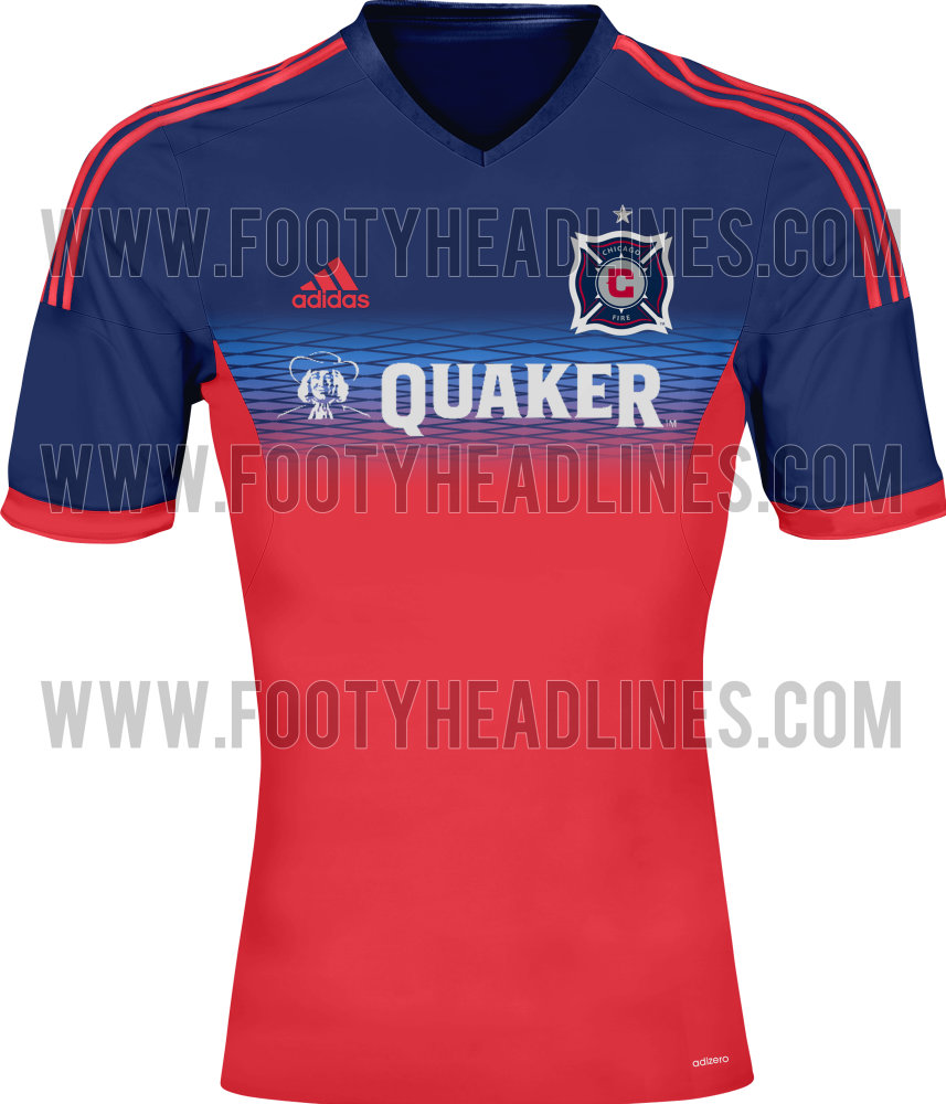 b057955dc Puke Funnel  2014 Home Kit Jersey Leak - Hot Time In Old Town