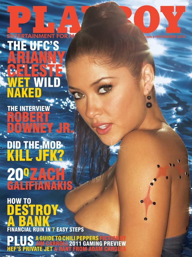 Playboy pics of ufc ring girl