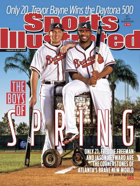 PHOTO: Jason Heyward, Freddie Freeman On Sports