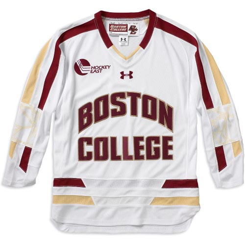 more photos d22aa 3c9d4 Boston College's New Under Armour Home Hockey Jersey - BC ...