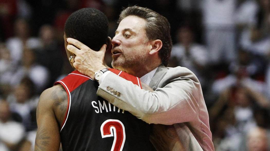Russ Smith And Rick Pitino: Love And Basketball - Card ...